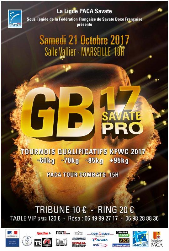 GB17 LE 21 OCTOBRE SALLE VALLIER MARSEILLE