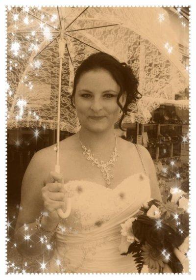moi le jour de mon mariage