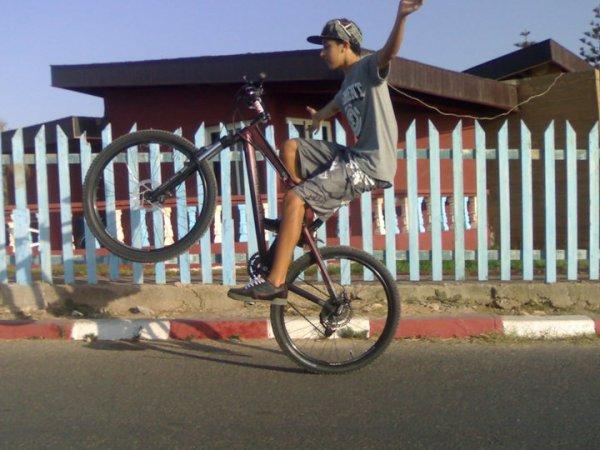 Ghost biker