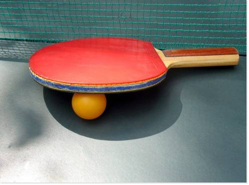 reprise de sport, pour cette fin de saison  sa sera le tennis de table