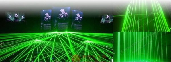 超强出力 5000mW 高性能緑色レーザーポインター安全鍵付きグリーンレーザーポインター
