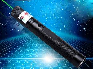 高出力 2000mW 天文星を指し 安全鍵付き緑色高品質レーザーポインター