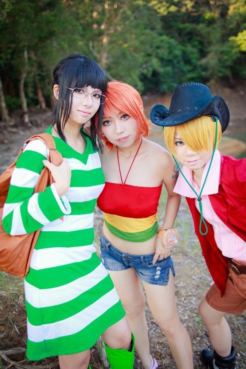 Cosplay Strong World