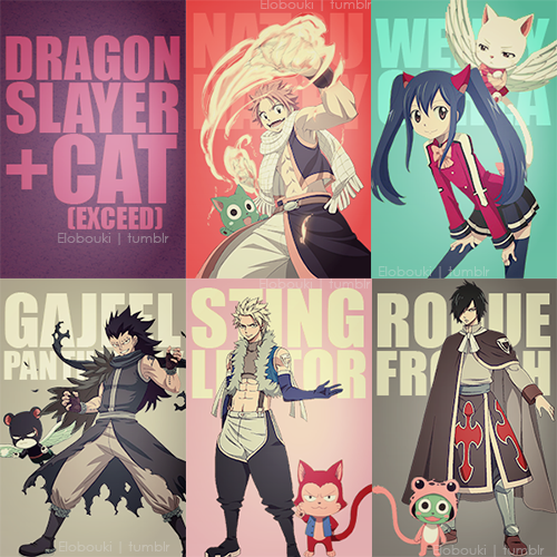 Exceed et Dragon Slayer