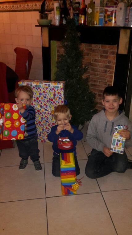 Mes fils à la Noël