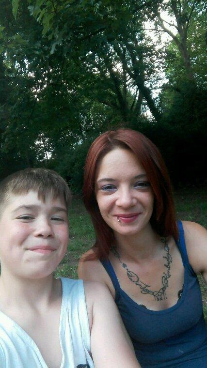 Jeremy et maman