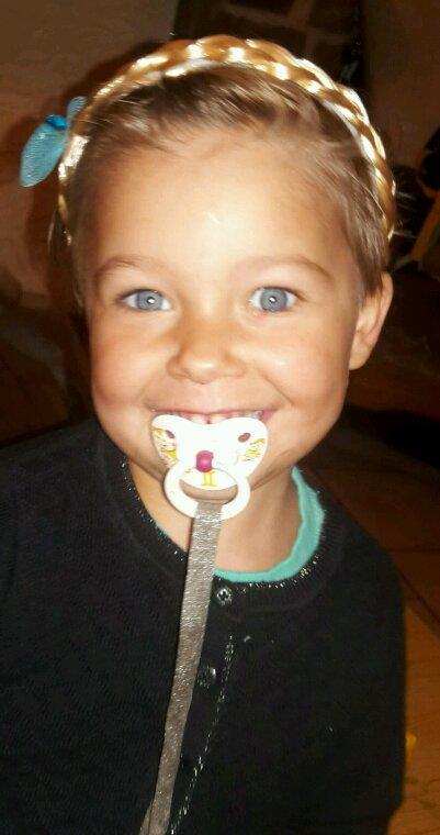 Ma fille de 3 ans Kimberly