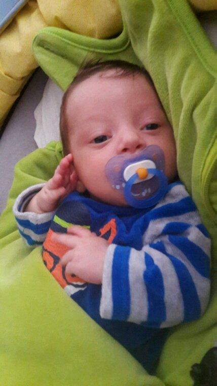 Mon fils timothy 2 mois