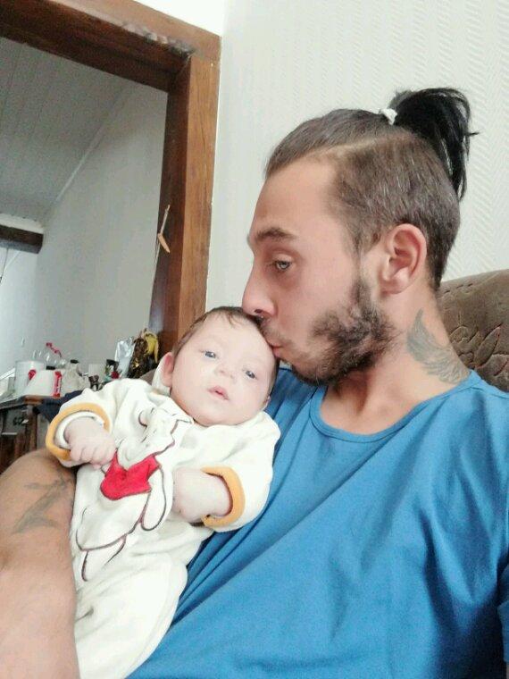 Timothy et son papa