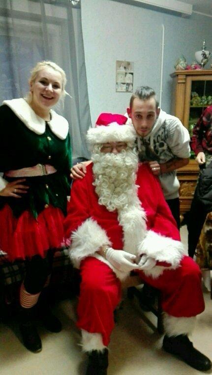 Papa Noël et mon homme