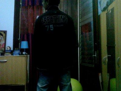 in my bedroom
