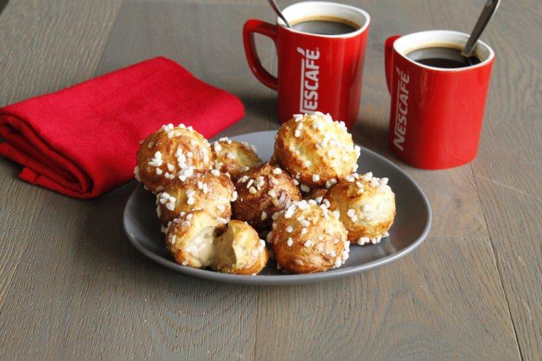 Chouquettes Crème Café