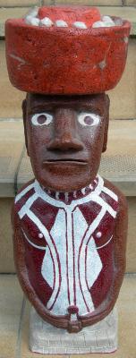 """6e article de FD: """"Reconstitution d'un moai selon les recherches historiques les plus sérieuses"""""""