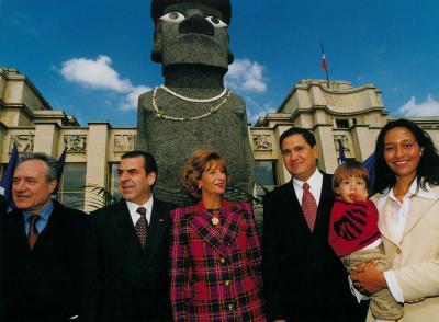 moai de la Paix à Paris