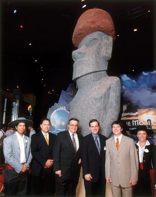 moai de la Paix à Orlando