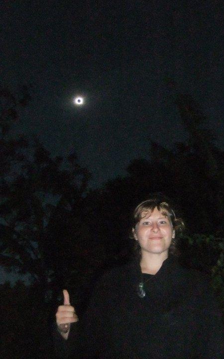 Eclipse totale du soleil le 11/07/2010 à Rapa Nui