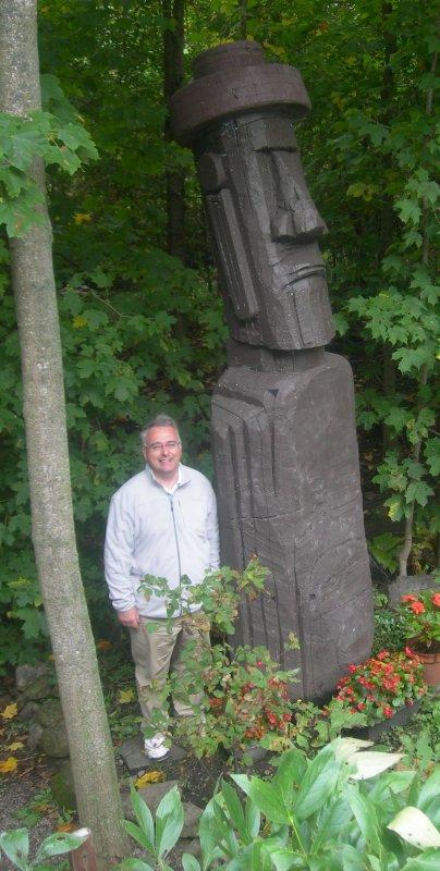 Chez Jean Hervé Daude à Laval, au Nord de Montréal