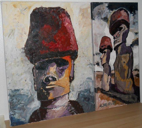 tableaux de Jean Hervé Daude