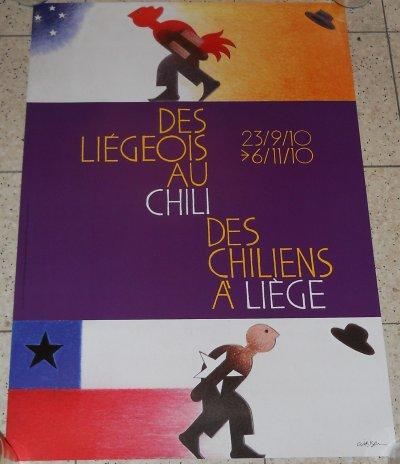 Des Liégeois au Chili, des Chiliens à Liège