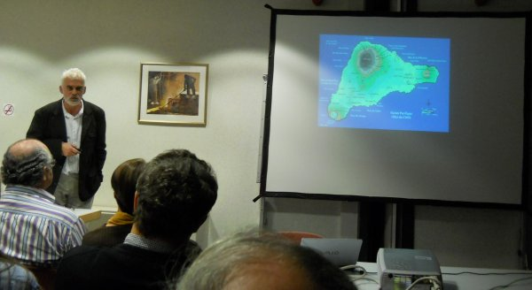 Nicolas Cauwe & carte de l'IDP - 28/10/2010