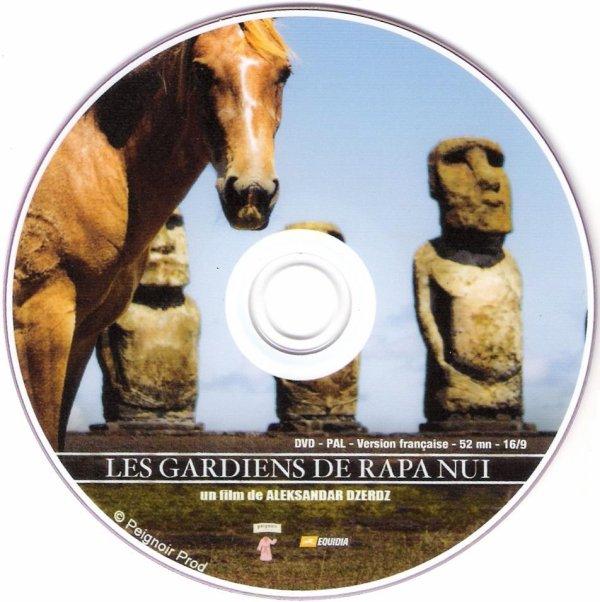 "DVD ""Les gardiens de Rapa Nui"" (2008) d'Aleksandar Dzerdz"