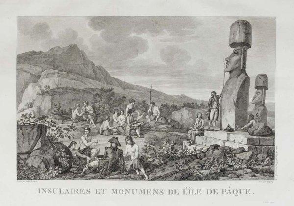 gravure originale en noir & blanc (18e siècle)
