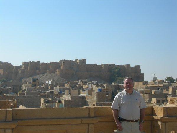 La ville fortifiée de Jaisalmer (Rajasthan - Inde du Nord) à l'antipode de l'IDP - 16/12/2009