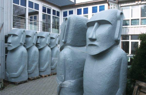 fabrique de moai