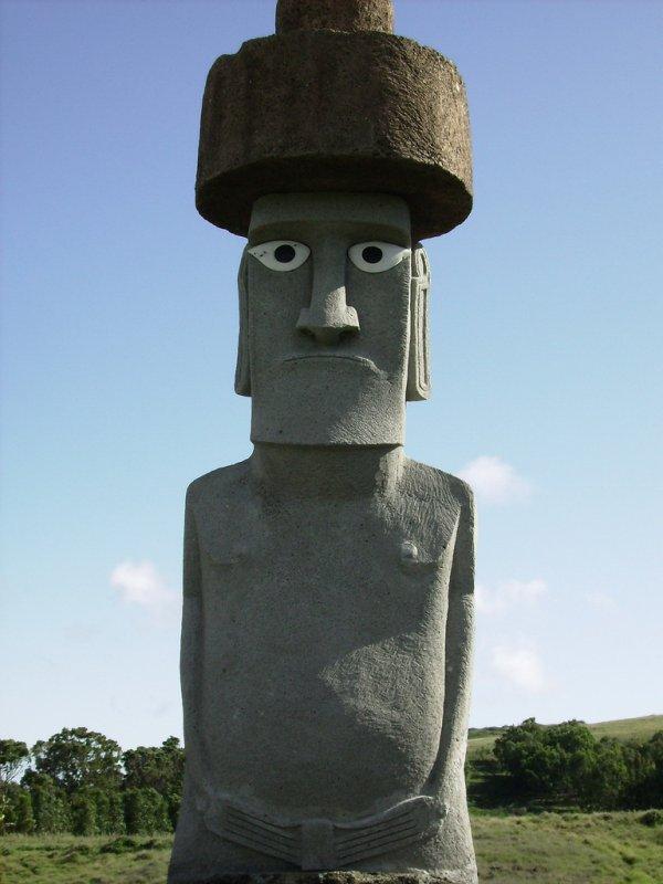 moai à Rapa Nui ?