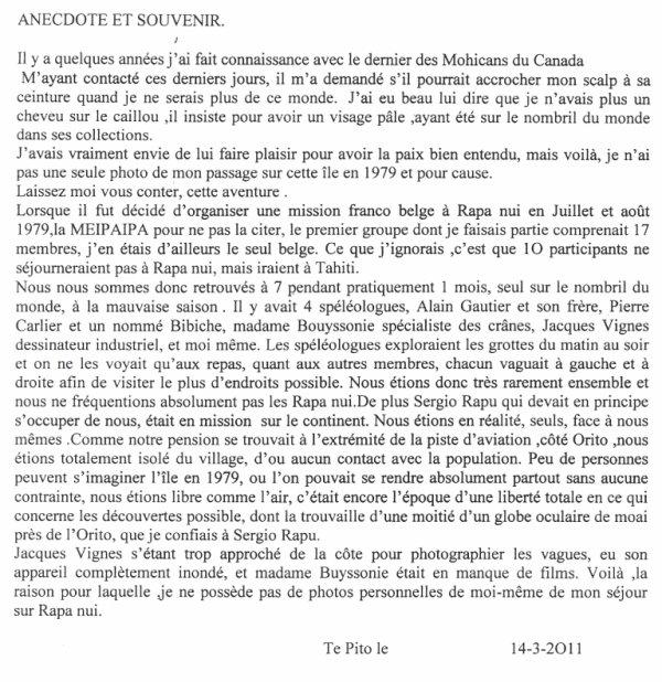 """87e article de FD: """"Anecdote et souvenir"""""""