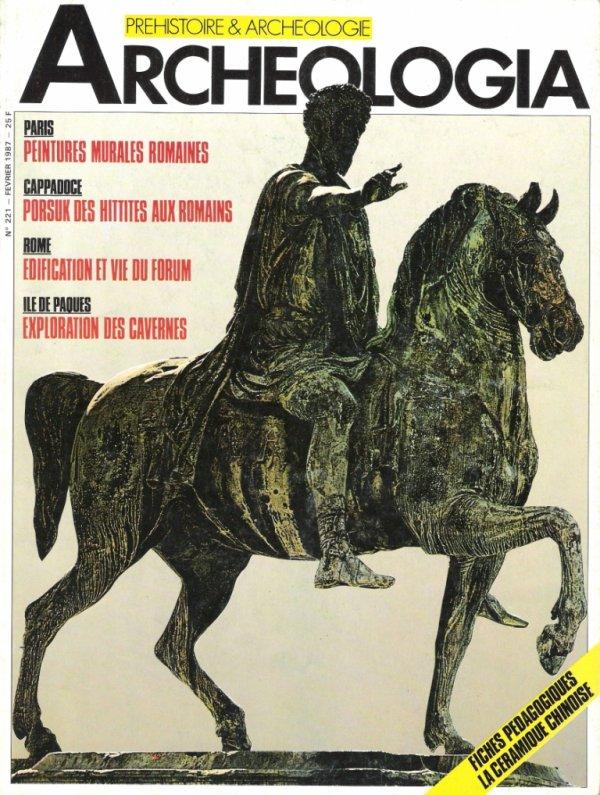 Archéologia n° 221 - février 1987
