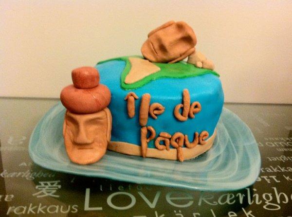 Gâteau d'anniversaire de Caribou