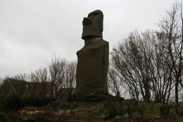 moai de Texel (Pays-Bas)