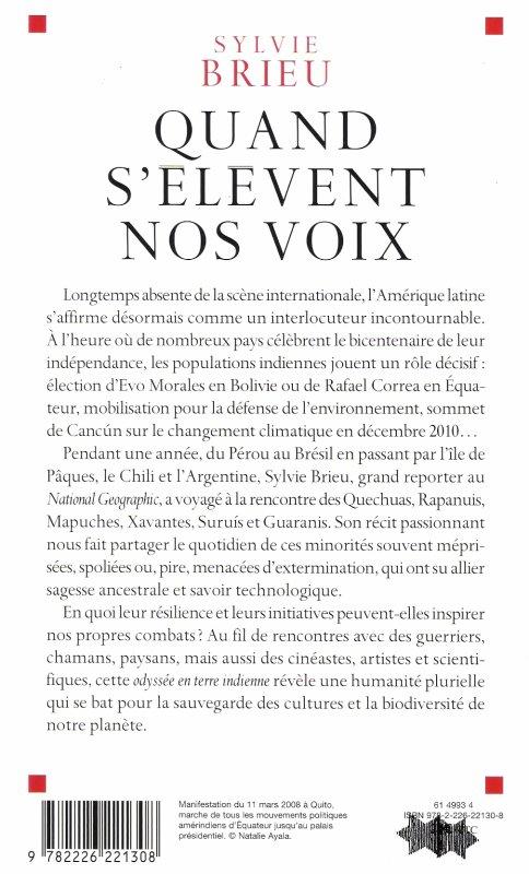 """""""Quand s'élèvent nos voix"""" de Sylvie Brieu (2/3) - 04/2011"""