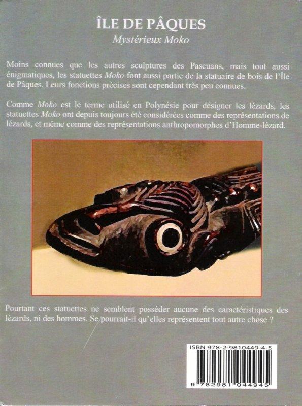 """Nouveau livre de Jean Hervé Daude: """"Mystérieux Moko"""" - verso - 03/2011"""