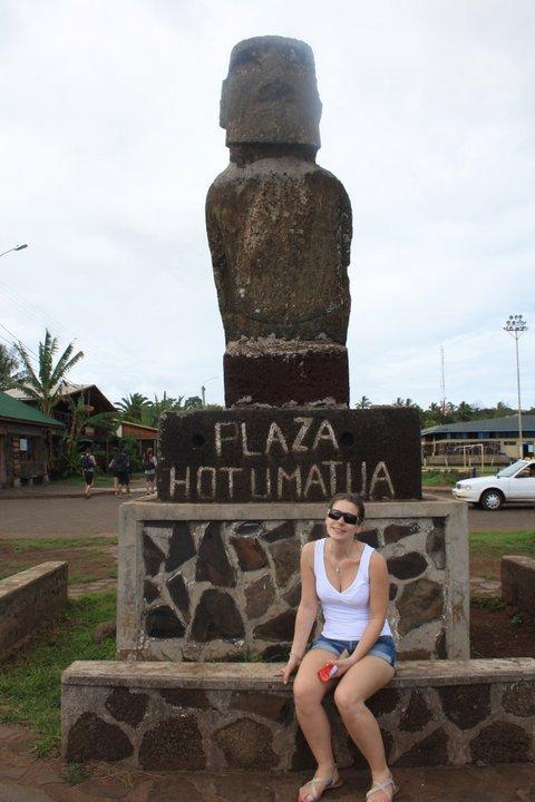 IDP - Hanga Roa - moai du port & ADJ - 04/2011