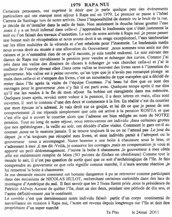 """97e article de FD: """"1979 Rapa Nui"""" (1/4)"""