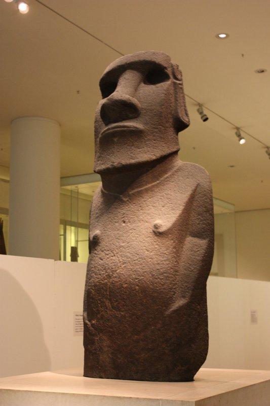 """99e article de FD (5/9) - moai """"Hoa Hakananai'a"""""""