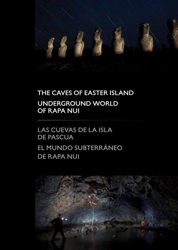 livre sur les grottes de l'île de Pâques (2010)