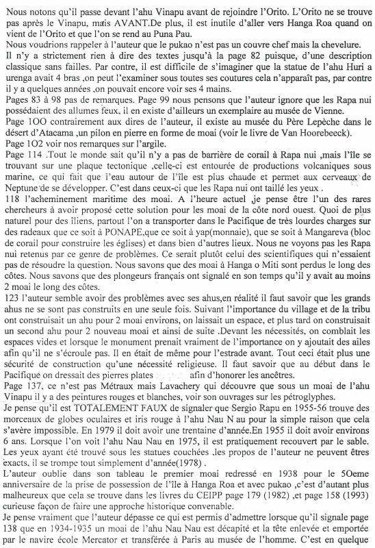 critique du livre de Guy Chagnon par Te Pito (2/5)