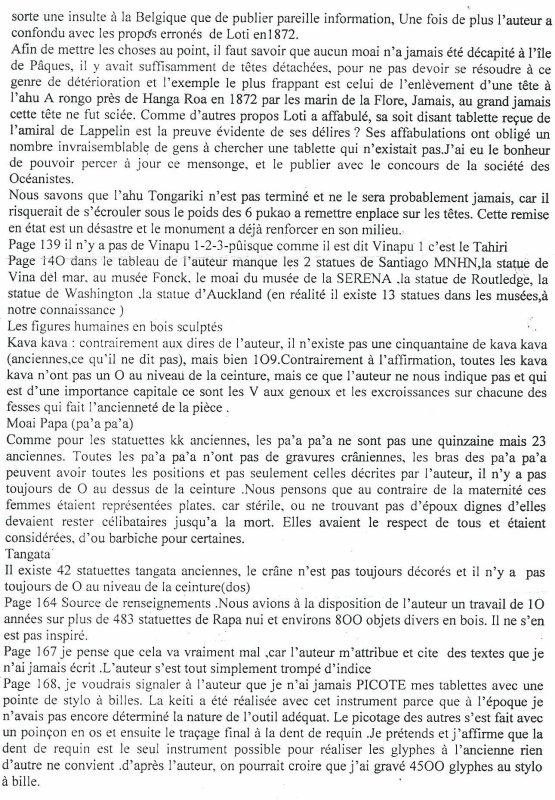 critique du livre de Guy Chagnon par Te Pito (3/5)