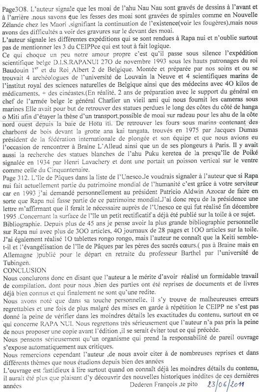 critique du livre de Guy Chagnon par Te Pito (5/5)
