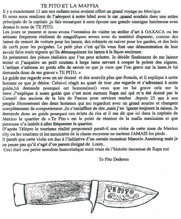 """105e article de FD: """"Te Pito et la maffia"""""""