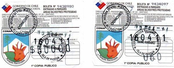 113e article de FD (2/2) - entrées payantes à l'IDP (Orongo & Rano Raraku)