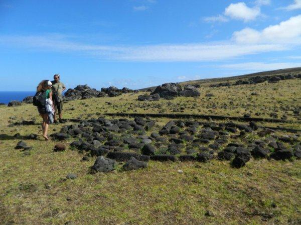 Randonnée de la côte Nord entre l'ahu Te Peu & Anakena - (08/12/2013) - 2
