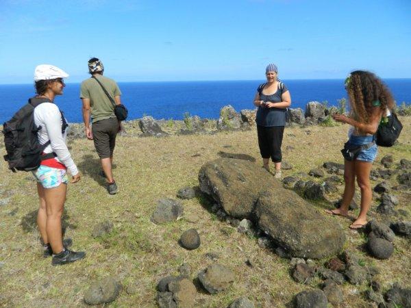 Randonnée de la côte Nord entre l'ahu Te Peu & Anakena - (08/12/2013) - 3