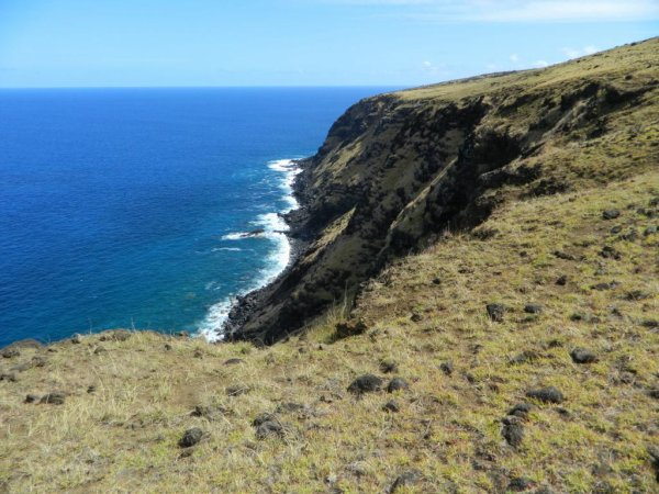 Randonnée de la côte Nord entre l'ahu Te Peu & Anakena - (08/12/2013) - 4