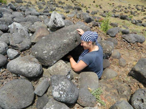 Randonnée de la côte Nord entre l'ahu Te Peu & Anakena - (08/12/2013) - 9