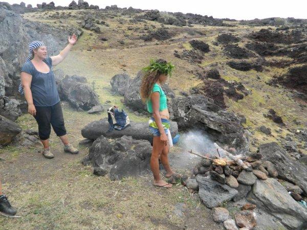 Randonnée de la côte Nord entre l'ahu Te Peu & Anakena - (08/12/2013) - 15