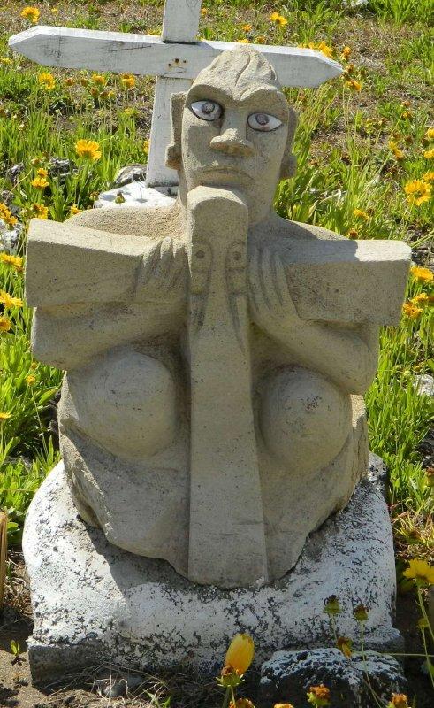 Hanga Roa - cimetière - tombes (04/12/2013) - 3
